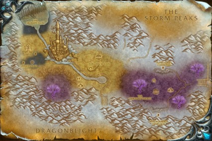 Crystalsong Forest Map