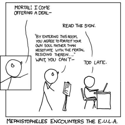 Comic courtesy of XKCD (xkcd.com)