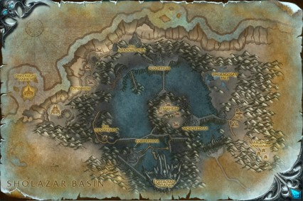 Ice Crown Map
