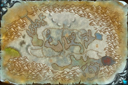 Wintergrasp Map